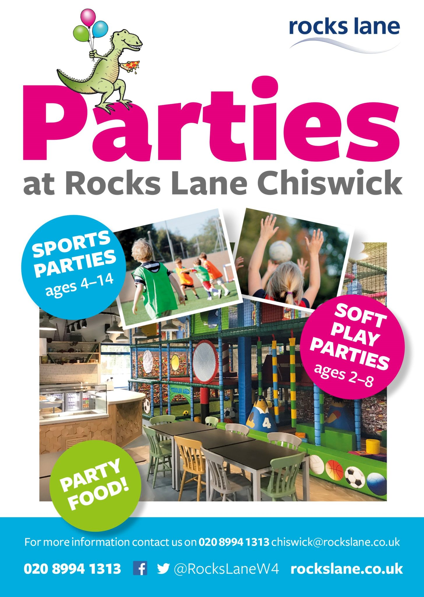 Parties at Chiswick